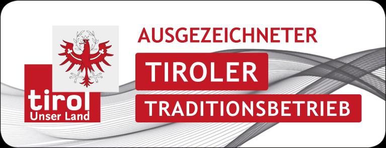 Label Ausgezeichneter Tiroler Traditionsbetrieb